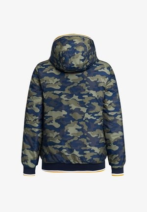 MITCHELL REVERSIBLE - Giubbotto Bomber - army green