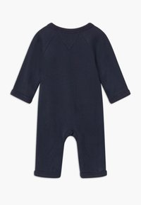 Tommy Hilfiger - BABY COVERALL - Mono - blue - 1