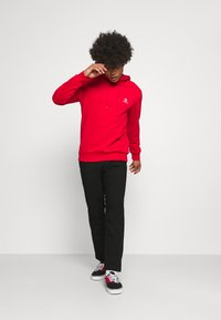 Tommy Jeans - ETHAN BLEND PANT - Chino - black - 1