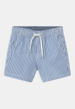 SEERSUCKER - Shorts - blue