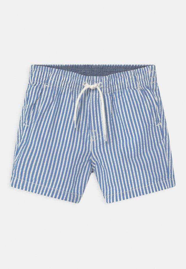 SEERSUCKER - Shorts - blue