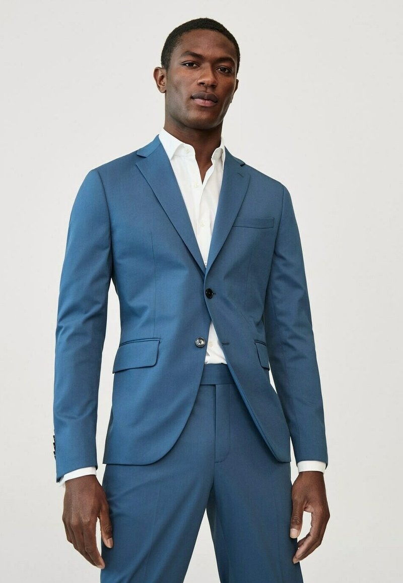 Mango - Suit jacket - bleu ciel
