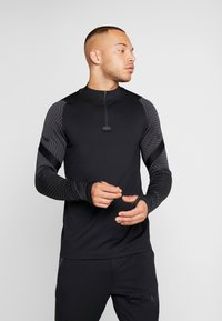 Nike Performance - DRY STRIKE DRILL - Sports shirt - black/anthracite - 0