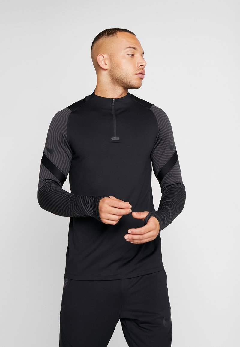 Nike Performance - DRY STRIKE DRILL - Sports shirt - black/anthracite