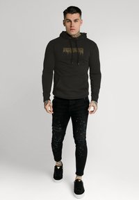 SIKSILK - CREEP OVERHEAD HOODIE - Sweatshirt - black - 1