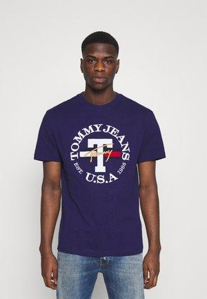 TIMELESS TOMMY TEE UNISEX - Print T-shirt - nightfall