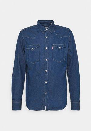BARSTOW WESTERN STANDARD - Shirt - lowdip denim rinse