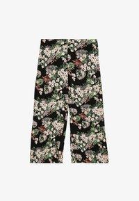 Vero Moda - VMSIMPLY EASY CULOTTE PANT - Kalhoty - black - 0