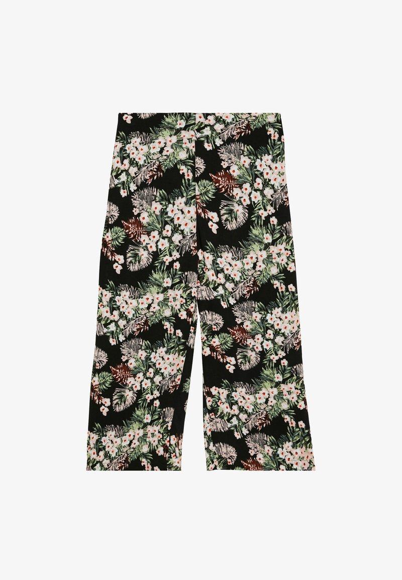 Vero Moda - VMSIMPLY EASY CULOTTE PANT - Kalhoty - black