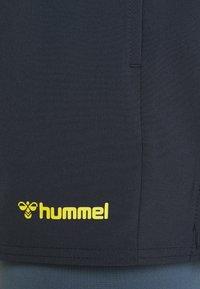 Hummel - 2 IN 1  - Sportovní kraťasy - blue nights - 2