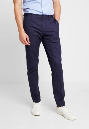 FLEX DOT PANTS - Suit trousers - blue