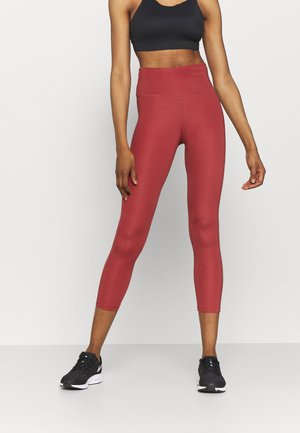 EPIC FAST CROP - Tights - canyon rust