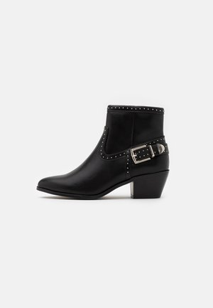 ONLTOBIO STUD - Ankle boots - black