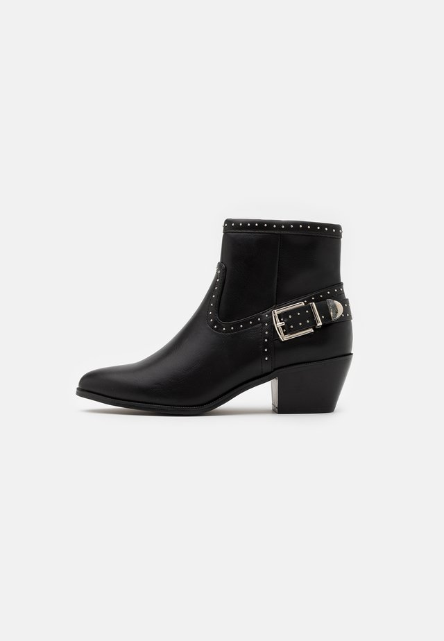 ONLTOBIO STUD - Ankle boot - black