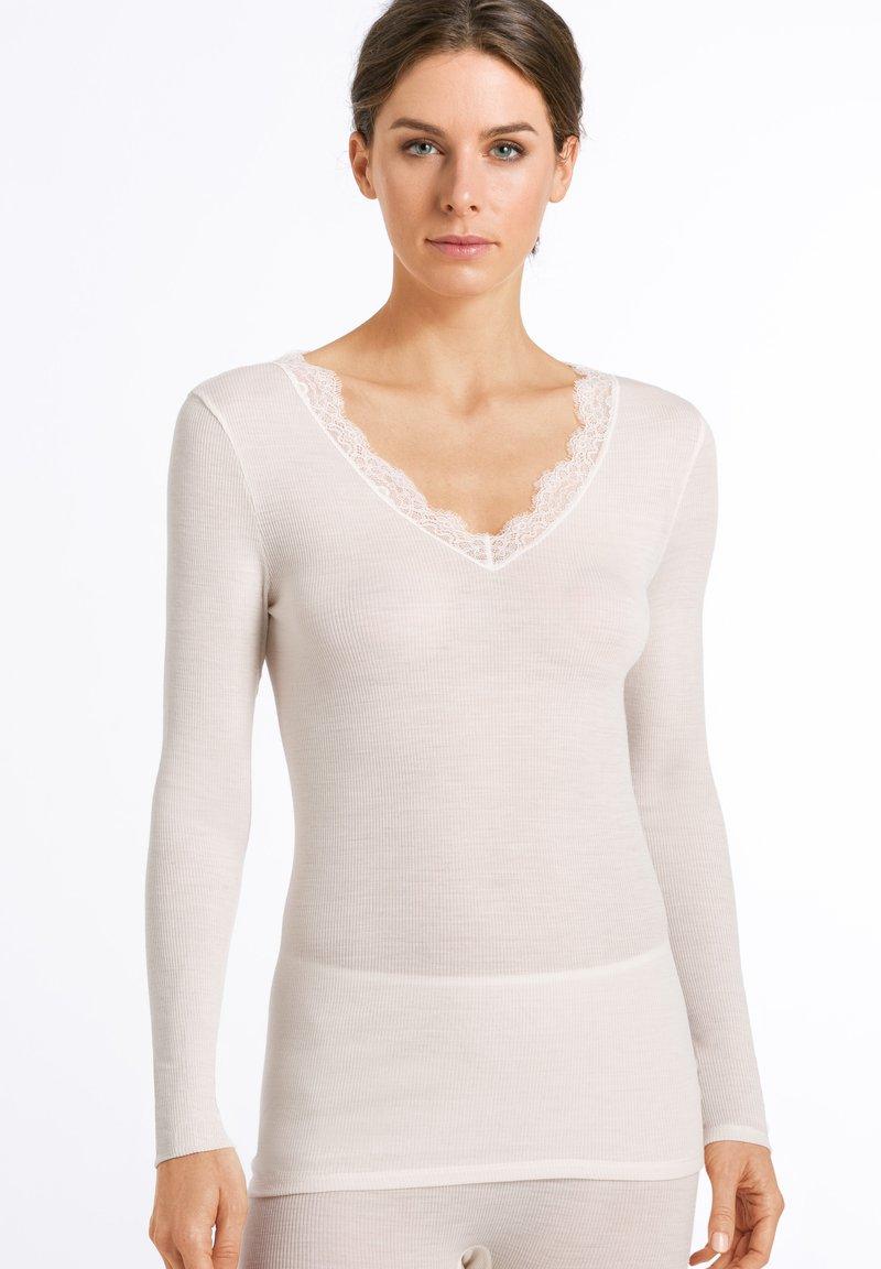 Hanro - 1/1 ARM - Undershirt - vanilla