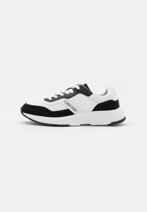 TOP LACE UP - Sneakersy niskie - white/black