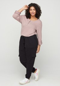 Zizzi - Long sleeved top - rose - 1