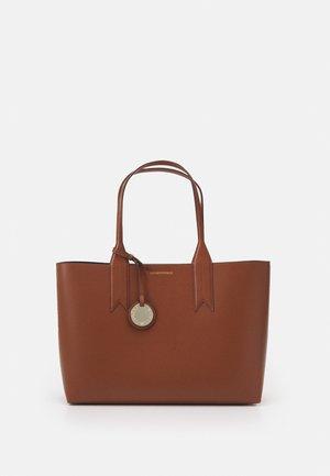 WOMENS - Handbag - tabacco/nero