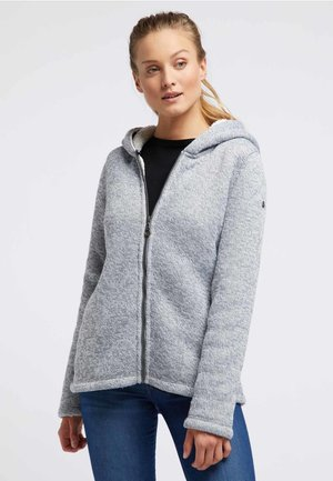 Cardigan - blue gray melange