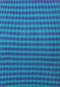 The Ragged Priest - STRIPE SKIRT - Mini skirt - blue/lilac - 2