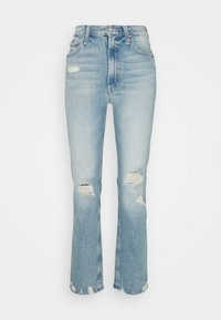Mother - HIGH WAISTED RIDER SKIMP - Straight leg jeans - the confession - 0