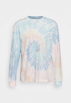 Long sleeved top - multi tie dye