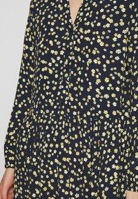 Moss Copenhagen - CALINA DRESS - Shirt dress - blue - 4