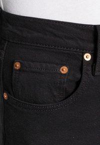 Levi's® - RIBCAGE STRAIGHT ANKLE - Straight leg jeans - black heart - 5