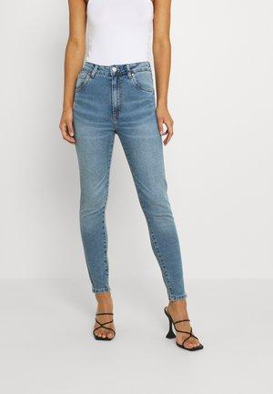 HIGH RISE CROPPED - Skinny džíny - brunswick blue