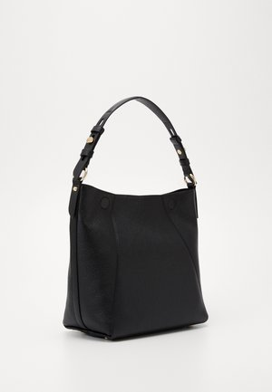 LUCYMD HOBO SEMI LUX - Håndtasker - black