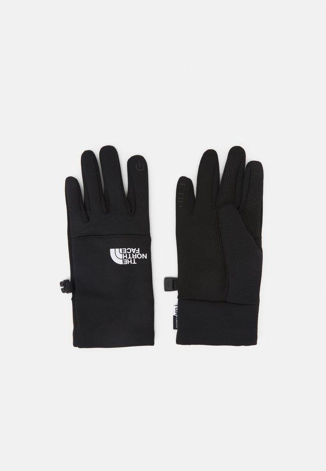 RECYCLED ETIP GLOVE UNISEX - Rękawiczki pięciopalcowe - black