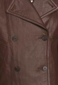 WEEKEND MaxMara - VENETO - Kožená bunda - bronze - 5