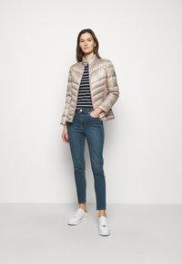 Lauren Ralph Lauren - PEARL SHEEN RACER MOTO SOFT - Down jacket - luxe - 1