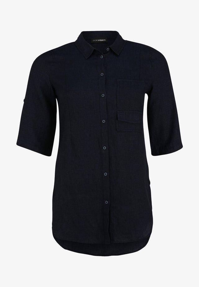 Overhemdblouse - marine