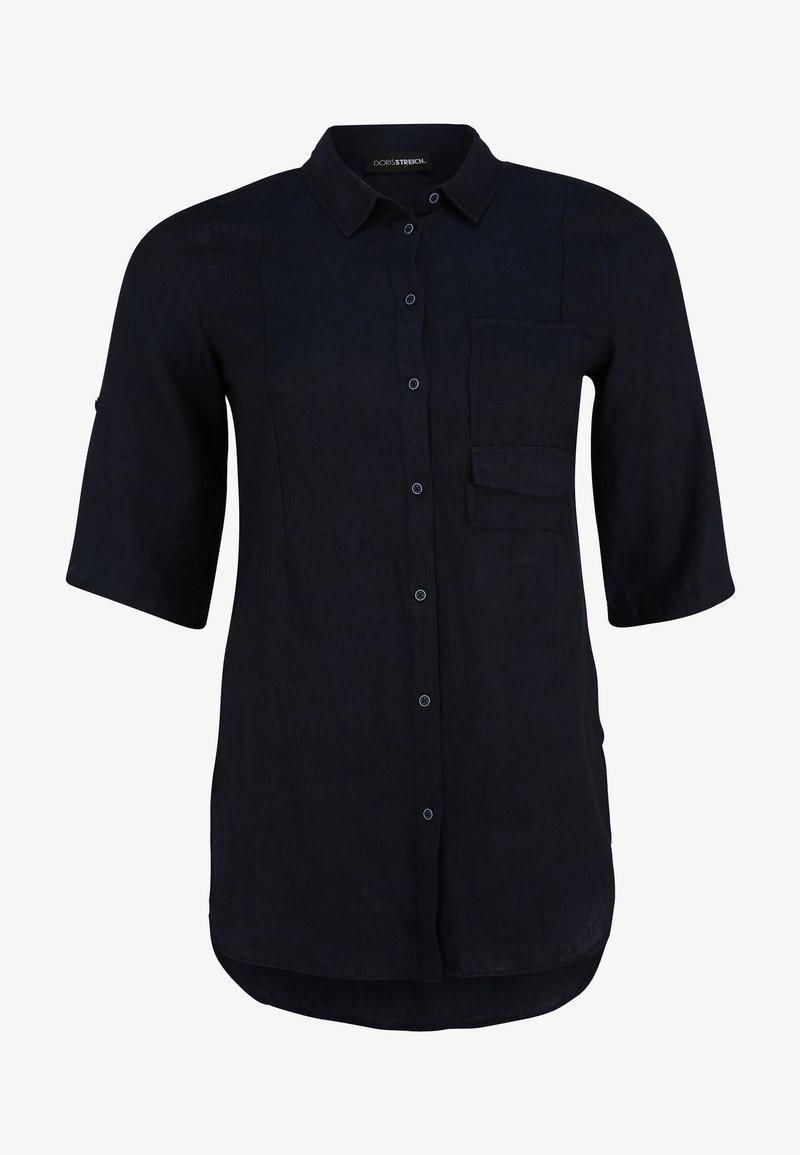 DORIS STREICH - Button-down blouse - marine