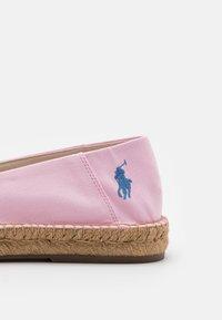 Polo Ralph Lauren - CEVIO SLIP - Espadrillos - carmel pink/blue - 5