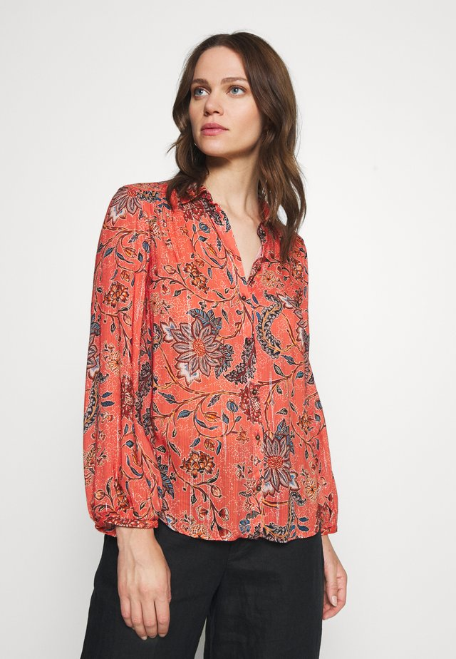 FLOR INDIGO - Button-down blouse - pink