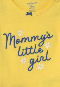 Carter's - SET - Print T-shirt - yellow/blue - 2