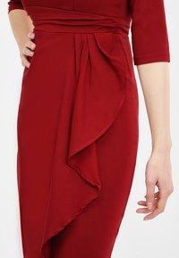 Collectif - CHANTELLE - Cocktail dress / Party dress - burgundy - 3
