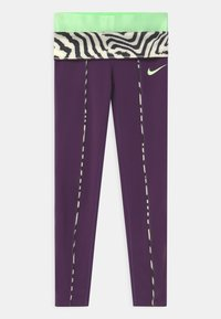 Nike Performance - ONE - Leggings - grand purple/vapor green - 2