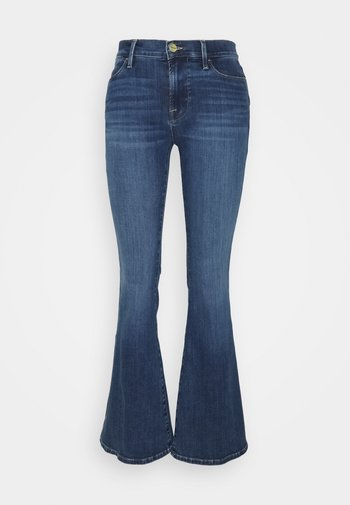 LE PIXIE HIGH - Jeans a zampa - lupine