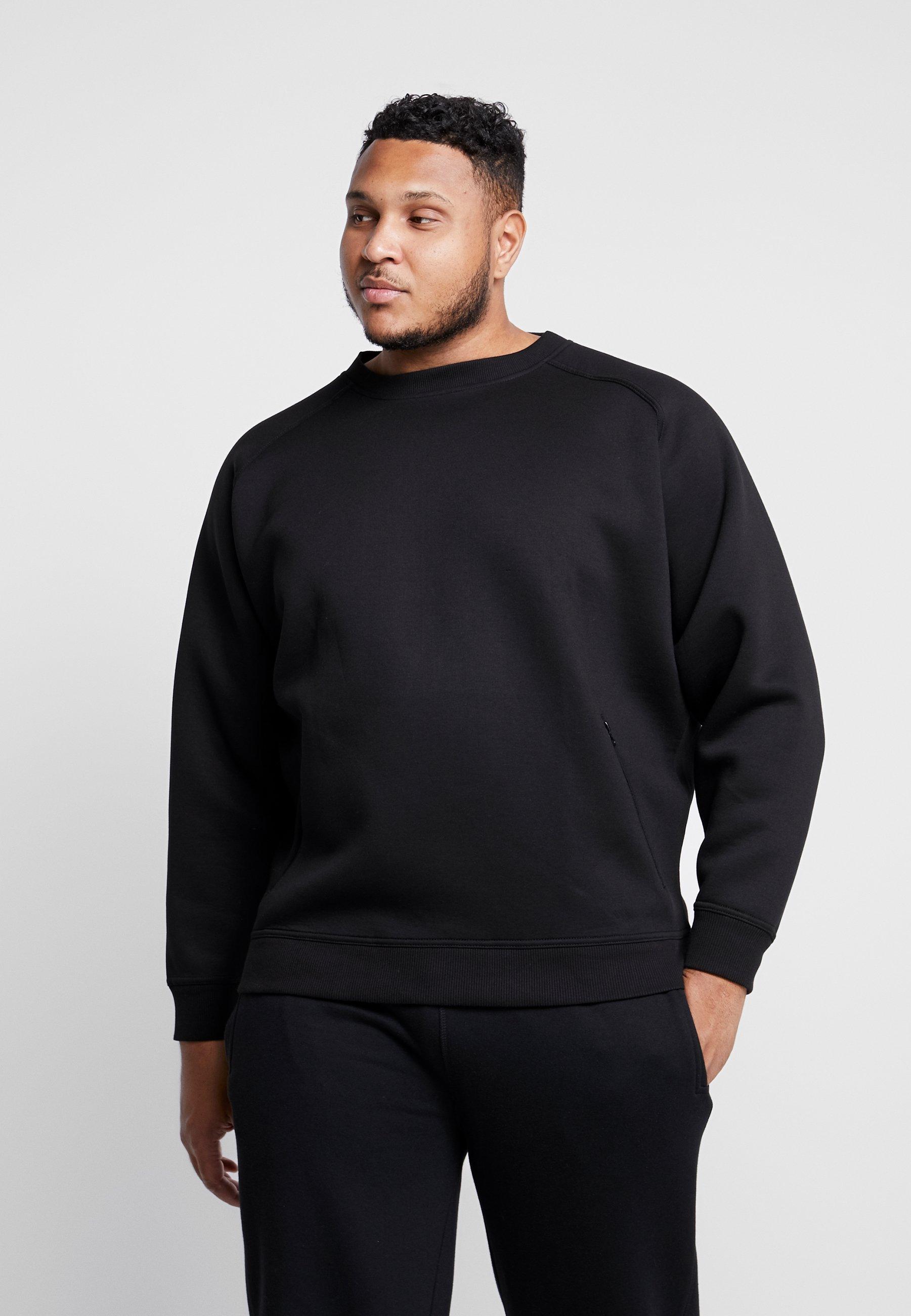 Homme ZIP POCKET CREW PLUS SIZE - Sweatshirt