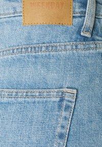 Weekday - ROWE  - Denim shorts - blue moise - 2