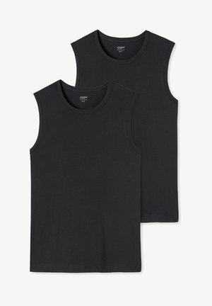 UNCOVER - Undershirt - schwarz