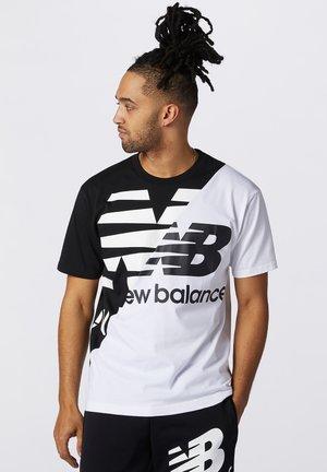 SPLICE - Print T-shirt - black