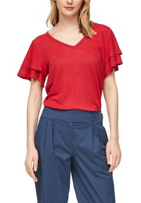 s.Oliver - Print T-shirt - true red - 3