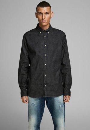 LEON - Skjorta - black denim