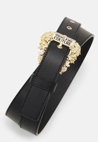 Versace Jeans Couture - VITELLO BELTS - Belt - nero - 4