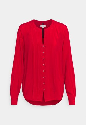 POPLIN REGULAR BLOUSE - Blouse - primary red