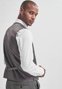 Next - Suit waistcoat - mottled grey - 2